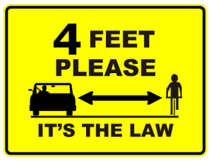 4 Feet is the Law